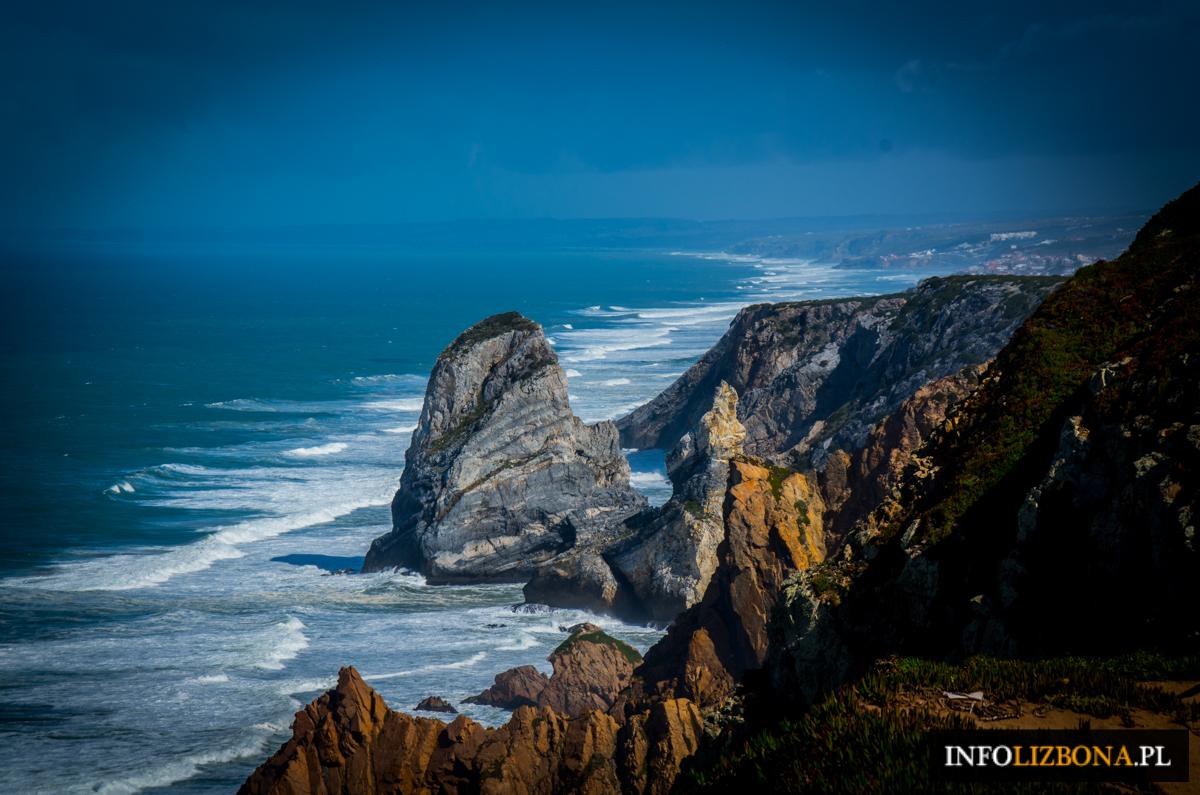 Cabo da Roca Sintra Lizbona Zdjęcia Fotografie Przewodnik