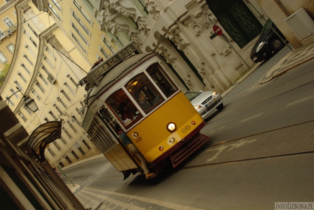 Tramwaj 28 Lizbona Tram 28 Lisboa