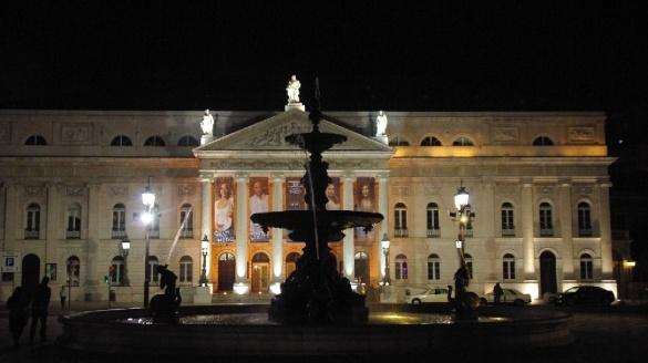 Teatr Narodowy Marii II w Lizbonie - Teatro Nacional D. Maria II