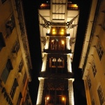 Winda Santa Justa w Lizbonie zdjęcia fotografie przewodnik foto
