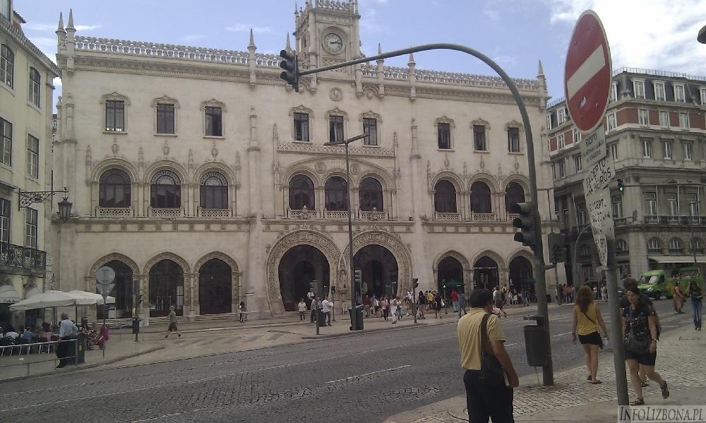 Dworzec Rossio w Lizbonie - zwiedzanie, opis, pociągi, info