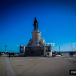 Plac Comercio Praca do Comercio w Lizbonie Lizbona fotografie przewodnik Baixa