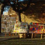 Punkt widokowy Miradouro da Graca w Lizbonie