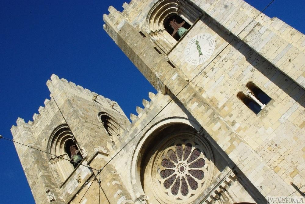 Lizbona Katedra Se Alfama Kościoły