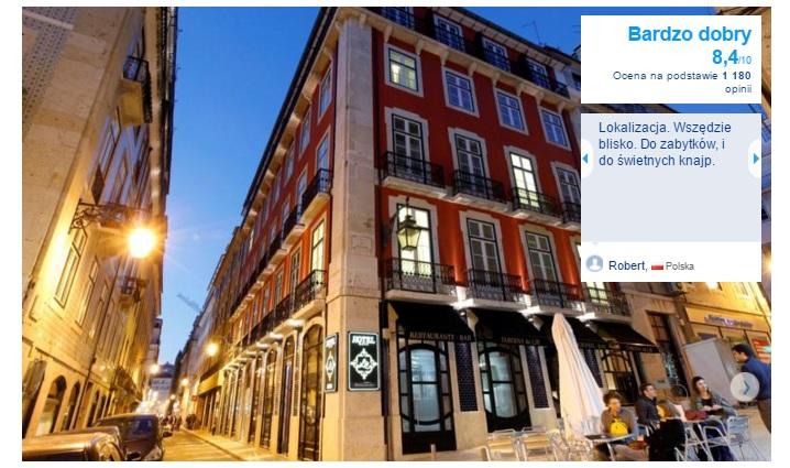 Lizbona Polecane hotele i noclegi czterogwiazdkowe najlepsze pewne sprawdzone przegląd opis wyszukiwarka opinie 6