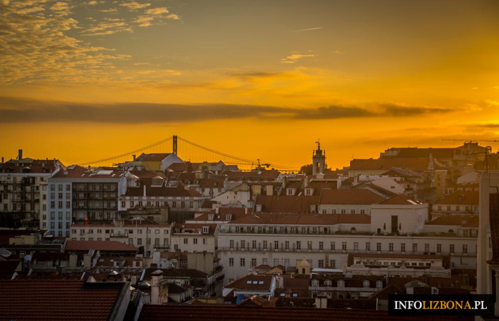 Lizbona pogoda styczeń w styczniu styczen temperatury deszcze opady opis pogody przewodnik po Lizbonie Portugalii pilot wycieczki zwiedzanie klimat godziny słoneczne temperatura wody