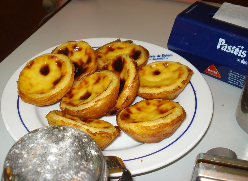 Pasteis de Nata Portugal Portugalia ciastka desery