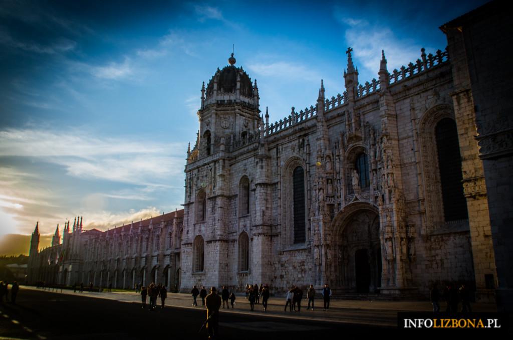 Klasztor Hieronimitów w Lizbonie Mosteiro dos Jeronimos UNESCO Portugalia zdjęcia i fotografie