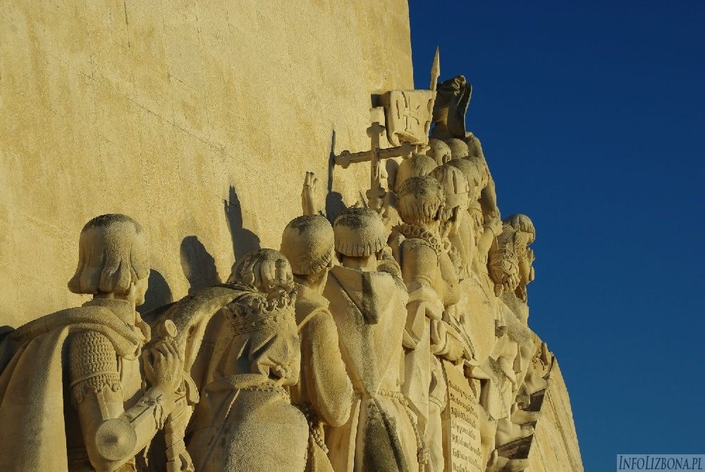 Pomnik Odkrywców Lizbona Belem Pomnik Odkryć Geograficznych