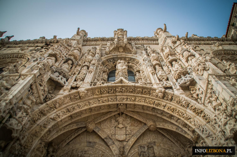 Klasztor Hieronimitów w Belem Lizbonie Kościół Mosteiro dos Jeronimos Lisboa Polski Przewodnik Lizbona Lisbona UNESCO zwiedzanie atrakcje zabytki turystyczne zdjęcia fotografie