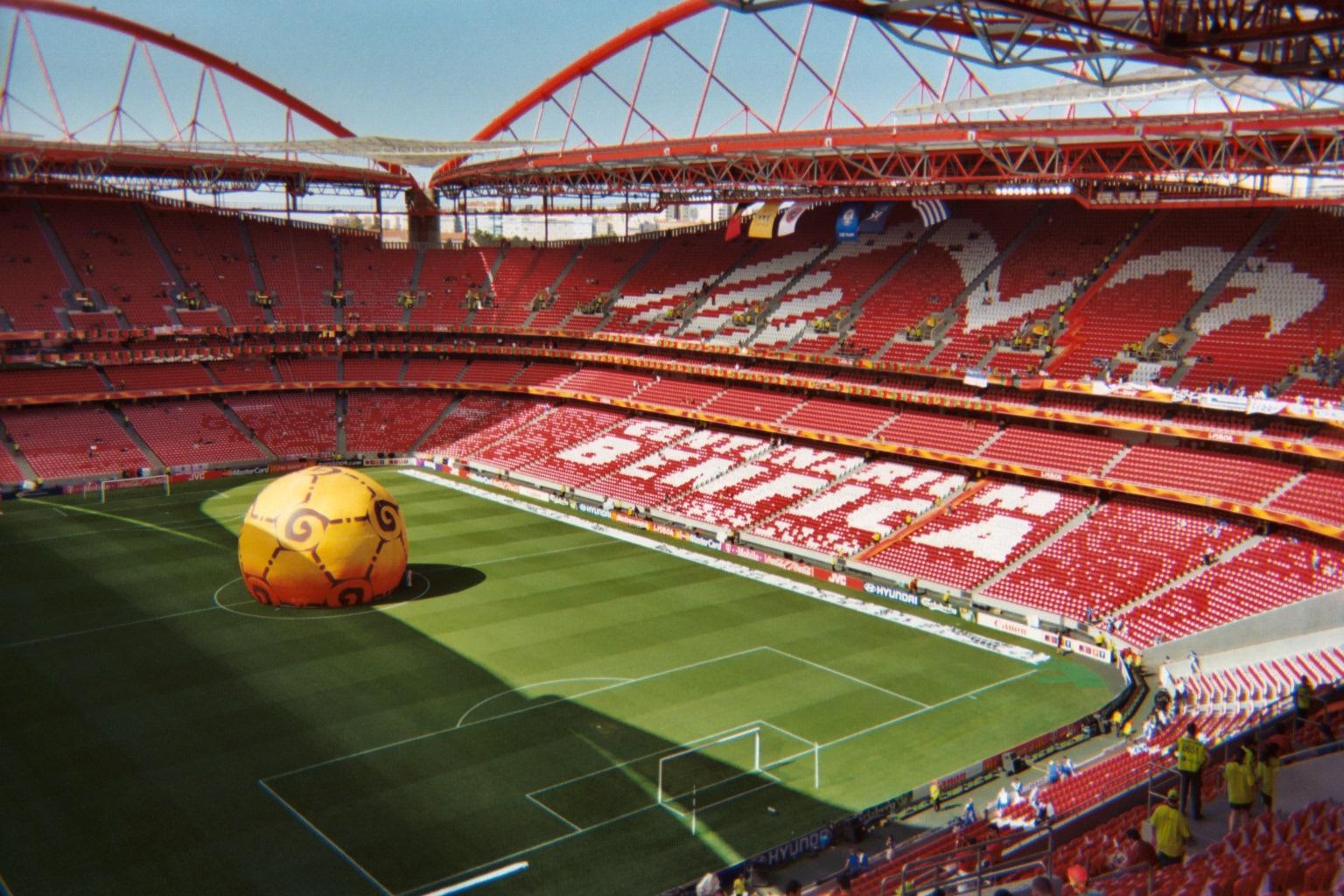 Liga Mistrzów 2014 stadion Lizbona Przewodnik Foto