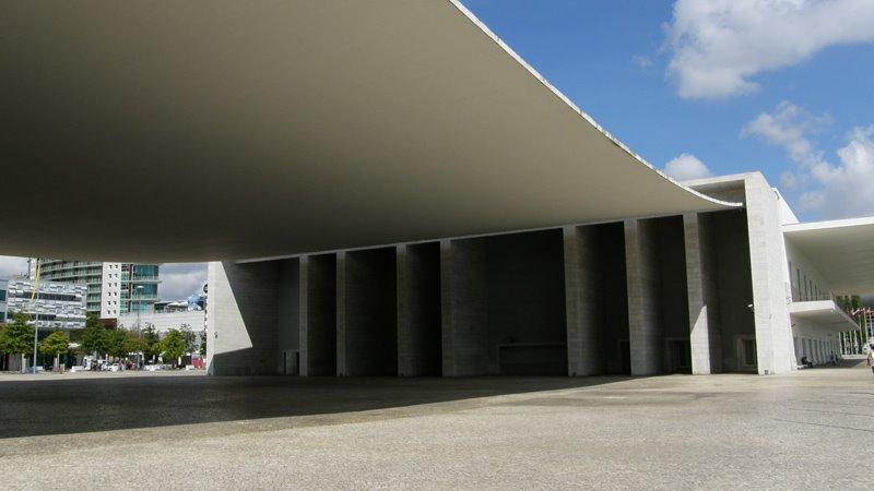 Pawilon Portugalii Lizbona Oriente foto zdjęcia przewodnik