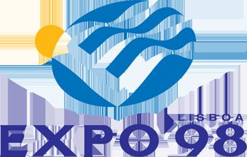 Expo 98 logo wystawy Lizbona