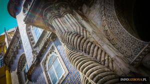 Pałac Pena Palacio da Pena Sintra Lizbona Foto Zdjęcia Przewodnik