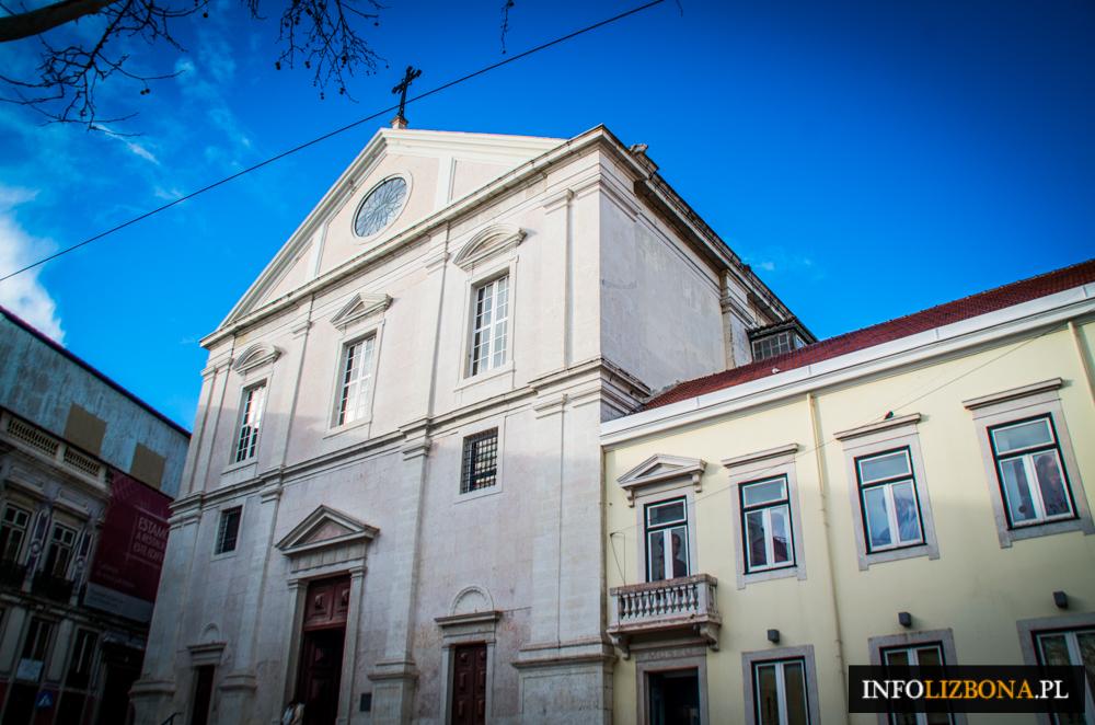 Kościół św. Rocha w Lizbonie Lisbonie Muzeum Fotografie Zdjęcia Przewodnik Bairro Alto kościoły w Lizbonie