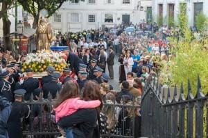 Procesja św. Antoniego w Lizbonie 2015 Zdjęcia Fotografie Foto Przewodnik po Lizbonie Święty Antonii Festas de Lisboa Santos Populares