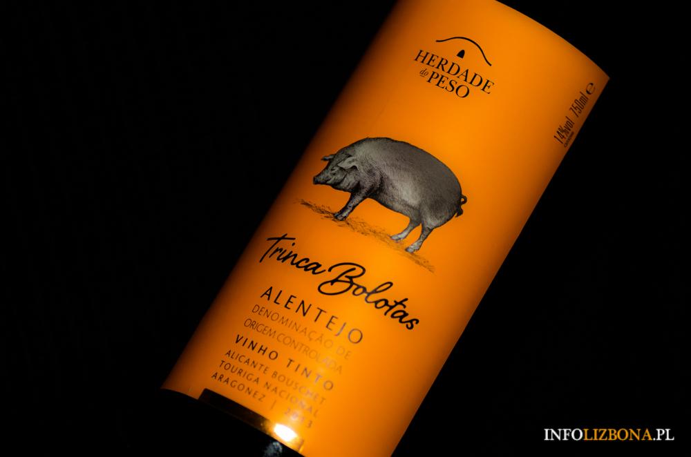 Trinca Bolotas wino Portugalia Alentejo polecane wina portugalskie przewodnika enologia