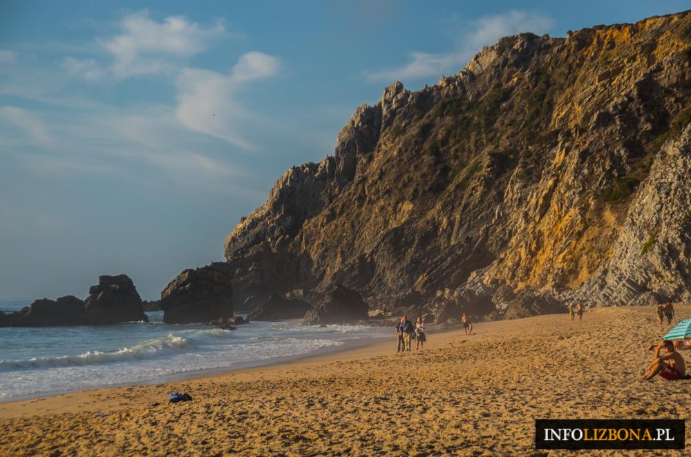 Praia da Adraga Plaża Sintra Lizbona Plaże w Lizbonie Zdjęcia fotografie Przewodnik Dzikie Plaże Portugalia Najpiękniejsze Najlepsze Foto