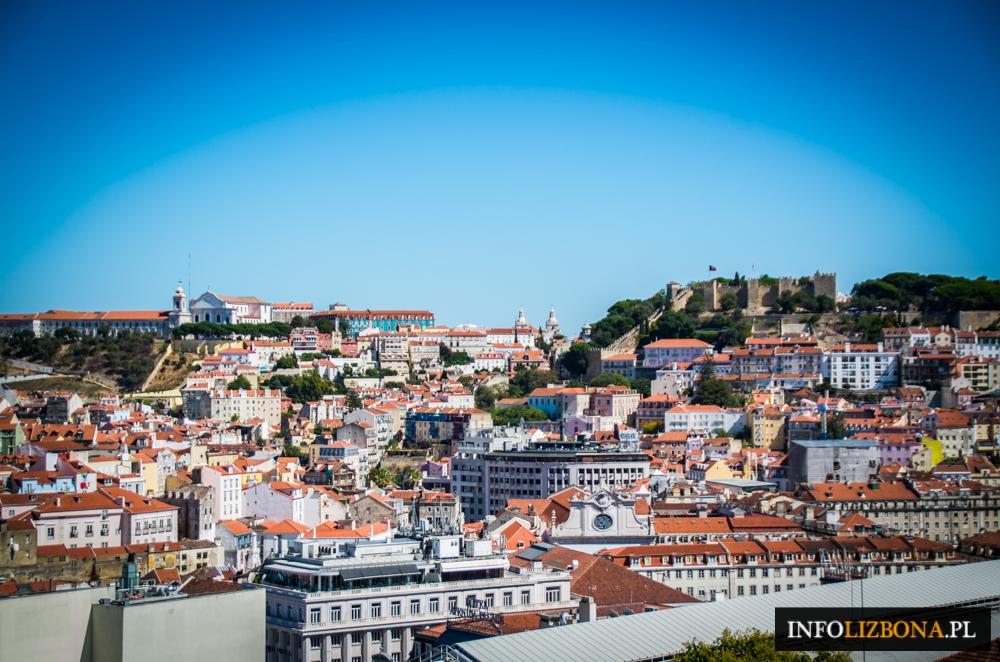 Punkt widokowy świętego Piotra z Alcantary Lizbona Lisbona Lisboa Punkty widokowe spis opis przewodnik po Lizbonie Tarasy widokowe fotografie zdjęcia foto