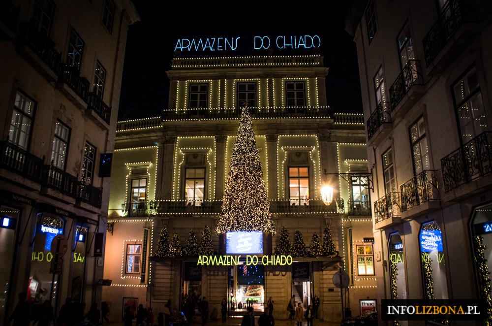 Boże Narodzenie Lizbona Lisbona Portugalia Fotografie Zdjęcie Foto Przewodnik 2015-2016 Sylwester