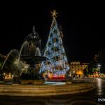 Lizbona oświetlona bożonarodzeniowymi iluminacjami [Galeria]