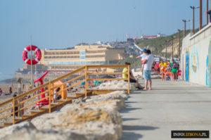 Praia Grande Lizbona Plaże Plaża Sintra Wielka Plaża Lisbona Lisboa Lisbon w Lizbonie dojazd foto info najlepsze plaże Portugalia