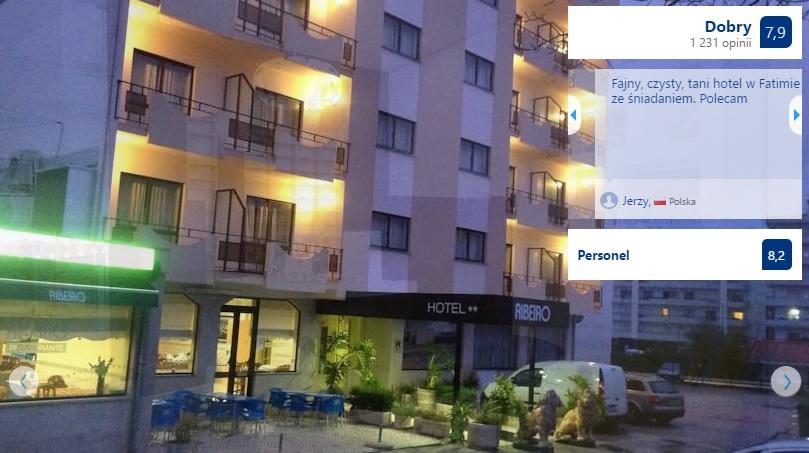 Polecane noclegi w Fatimie w Portugalii Hotele Domy Pielgrzyma Tanie Pensjonaty Ekonomiczne Dobre Sprawdzone Sanktuarium w Fatimie Przewodnik Opis Gdzie Spać 12