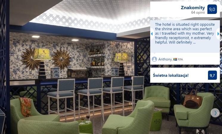 Polecane noclegi w Fatimie w Portugalii Hotele Domy Pielgrzyma Tanie Pensjonaty Ekonomiczne Dobre Sprawdzone Sanktuarium w Fatimie Przewodnik Opis Gdzie Spać 4