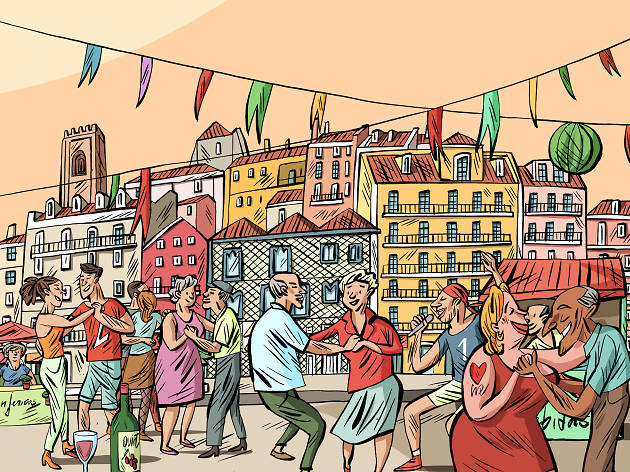Festas de Lisboa 2018 Program Przewodnik po Lizbonie Festiwal Fiesta Festa św. Antoniego Santos Populares Festiwal Sardynki co robić opis zdjęcia