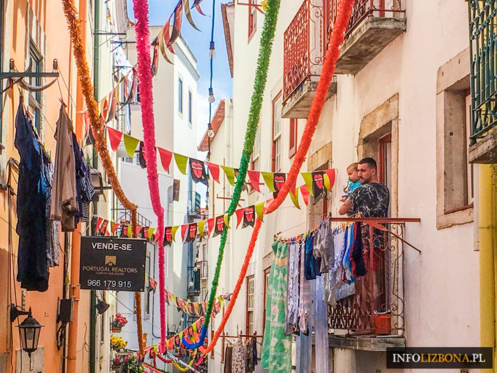 Festiwal Świętego Antoniego Lizbona Lisbona 2018 Święto św. Antoniego Antoni Portugalia Fiesta Festa de Lisboa Santos Program Informacje Foto