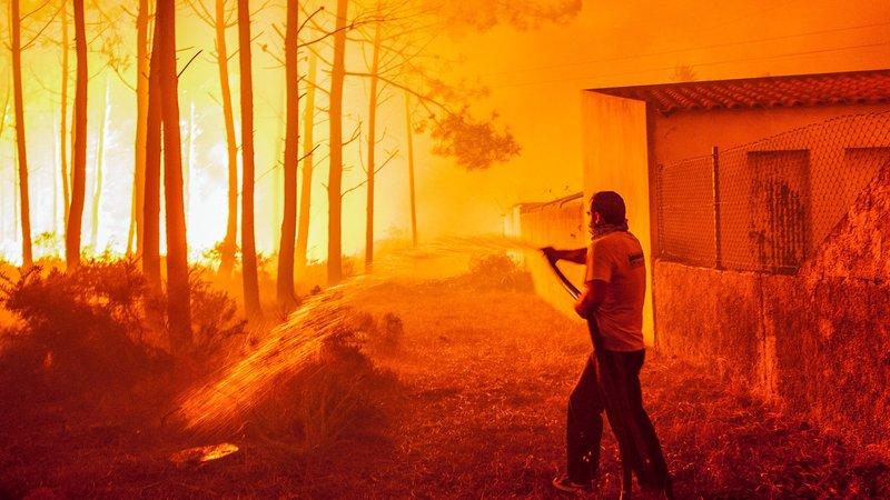 Pożary w Portugalii aktualna sytuacja pozary Portugalia opis gdzie kiedy