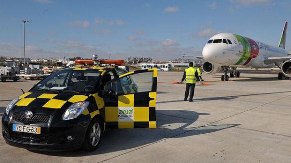 Airport in Lisbon, Aeroporto Lisboa, Lotnisko Lizbona