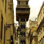 Winda Elevador de Santa Justa w Lizbonie