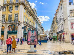 Lizbona Baixa Polski Przewodnik po Lizbonie dzielnicy Baixa i Portugalii Co trzeba zobaczyć w Lizbonie Najważniejsze Zabytki i Atrakcje Turystyczne PDF Mapa Opis