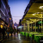 Rua Augusta w Lizbonie Lizbona główny deptak fotografie zdjęcia foto fotograf przewodnik