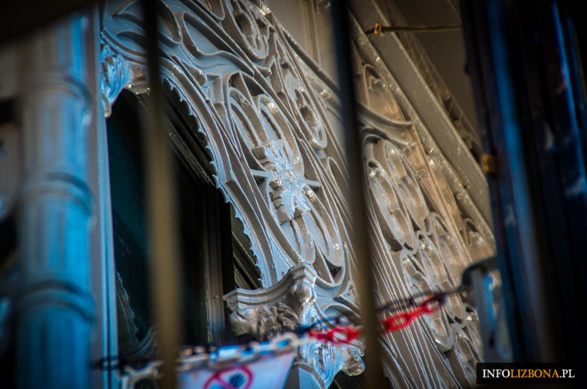 Winda Santa Justa w Lizbonie Winda św Justyny w Lisbonie zabytki atrakcje turystyczne polski przewodnik opis darmowe atrakcje Baixa Lisboa Zdjęcia Foto