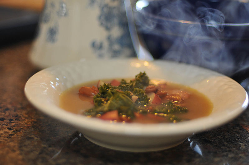 Caldo Verde zupa portugalia kuchnia