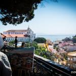 Miradouro de Nossa Senhora do Monte w Lizbonie [Zdjęcia]