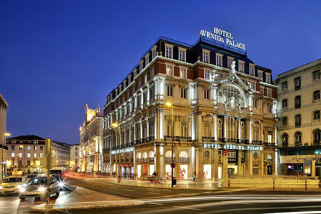 Hotel Avenida Palace w Lizbonie   Źr: www.booking.com
