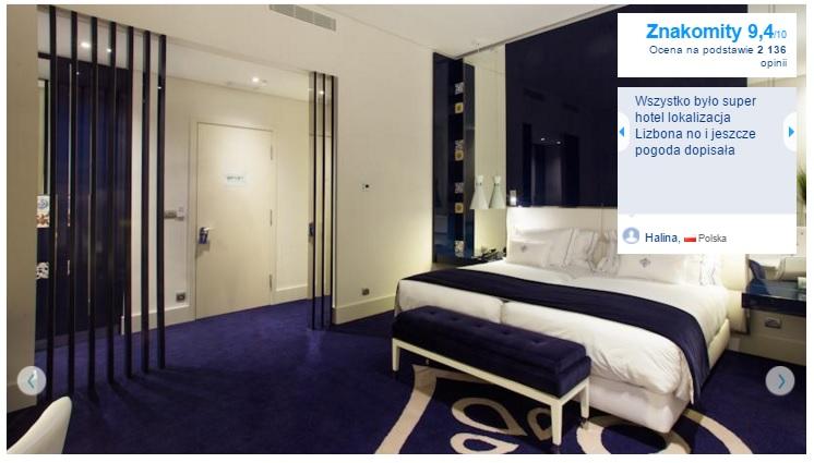 Lizbona Polecane hotele i noclegi czterogwiazdkowe najlepsze pewne sprawdzone przegląd opis wyszukiwarka opinie 1