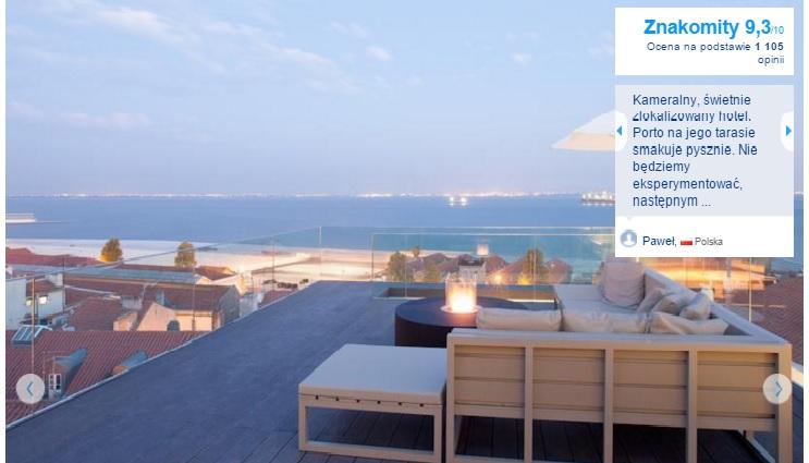 Lizbona Polecane hotele i noclegi czterogwiazdkowe najlepsze pewne sprawdzone przegląd opis wyszukiwarka opinie 2
