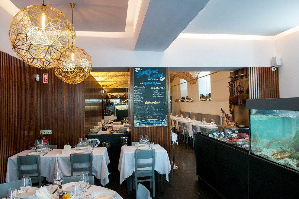 Polecane restauracje w Lizboni Lisbonie Lisboa owoce morza i ryby najlepsze restauracje see food mariscos restauracje z rybami i owocami morza 4
