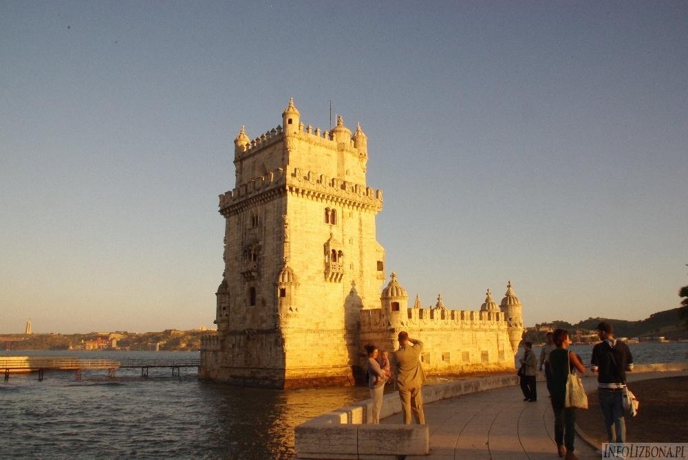 Wieza Belem Wieża Torre de Belem Lizbona Wieża Betlejemska