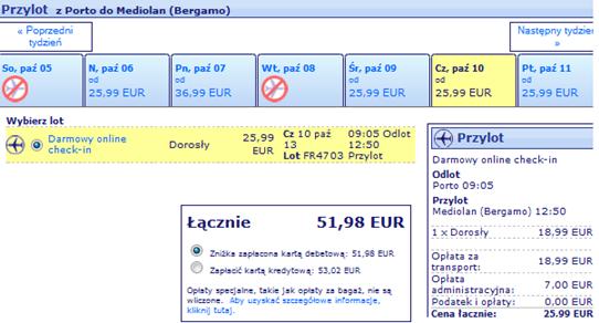 Katowice - Portugalia tanie loty 2013 1
