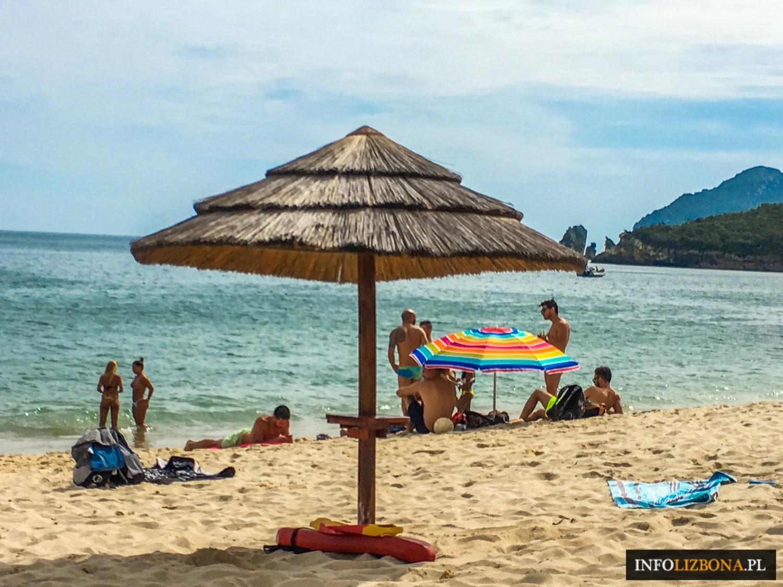 Plaże Portugalia Lizbona Cascais Sintra Costa da Caparica Arrabida Najpiękniejsze plaże w Lizbonie i okolicach Informacje Zestawienie TOP Mapa Wskazówki Jak dojechać Gdzie są Polski Plaża