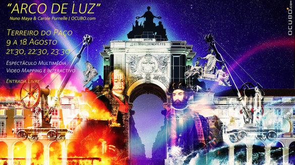 Arco de Luz Lisboa Lisbon show foto