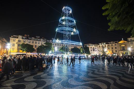 Święta Boże Narodzenie Lizbona Portugalia 2013