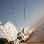 Lizbona: Wieża Vasco da Gama w Lizbonie Foto Zdjęcia Oriente Expo