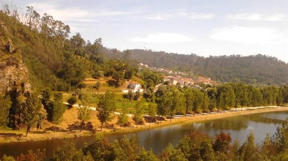 Portugalia krajobrazy wieś