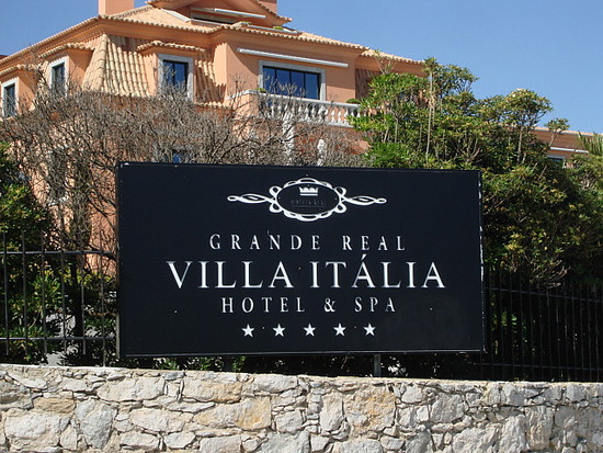 Cascais Lizbona Hotele Hotel Grande Real Villa Italia - przewodnik
